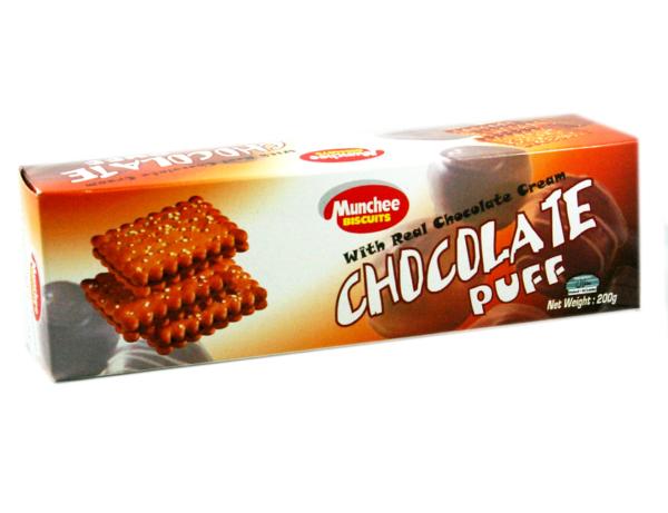Munchee Chocolate Puff