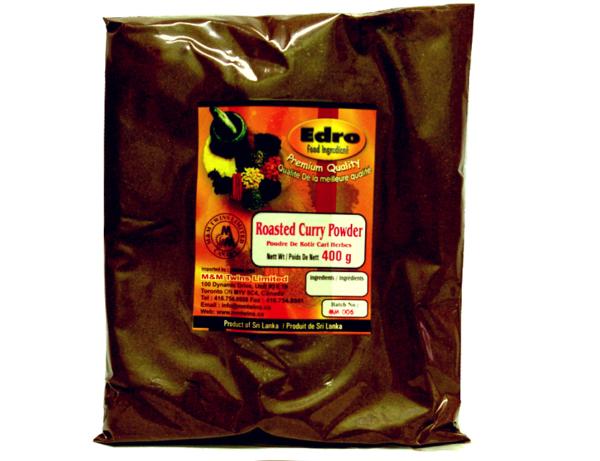 Edro Dark Roasted Curry Powder (Packet) 400g