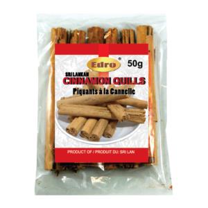 Edro Ceylon Cinnamon Quills 50g