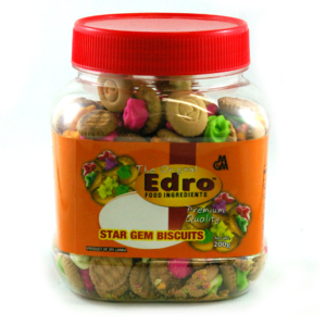 Edro Star Gem Biscuits