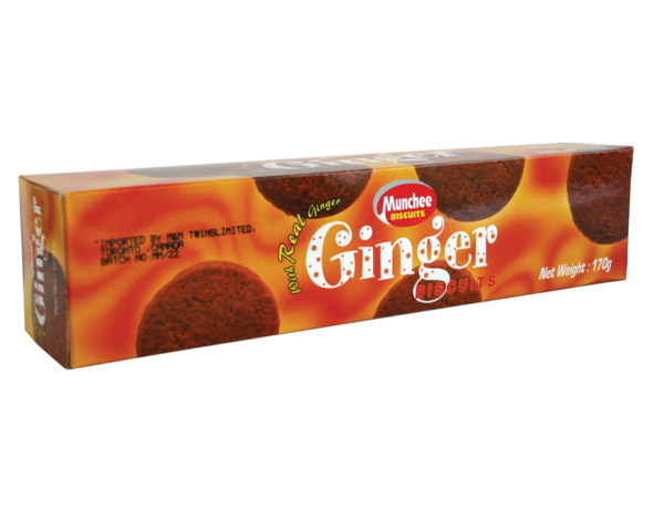 Munchee Ginger Biscuits