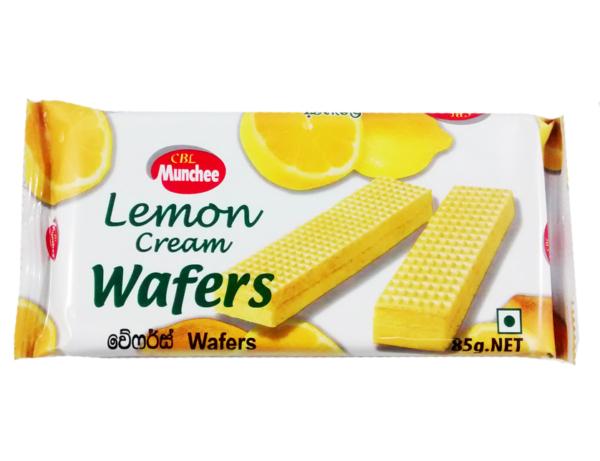 Munchee Lemon Cream Wafers